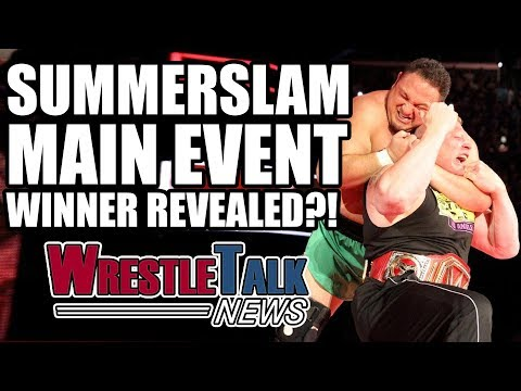 Summerslam Main Event Winner REVEALED?! Jon Jones Teases WWE Appearance! | WrestleTalk News Aug 2017
