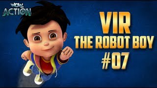 Vir: The Robot Boy | Hindi Cartoon Compilation For Kids | Compilation 07 | WowKidz Action