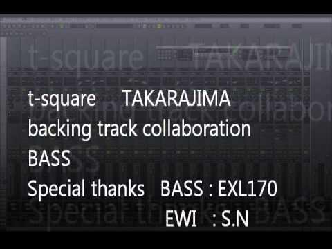 t square takarajima backing track bass