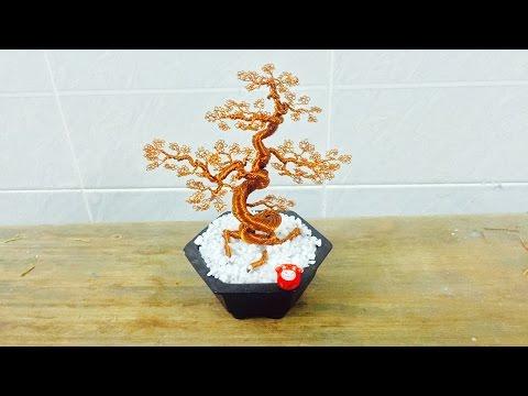 [Bonsai Handmade]How To Make Bonsai Tree Wire Copper