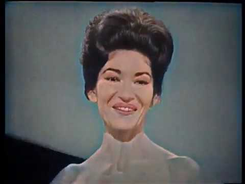 Maria Callas concert in Covent Garden 1962. In color & best quality!!!