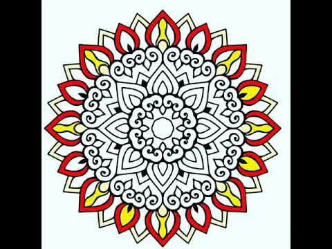 Mandala Boyama Mandala Games Happy Color Colors Youtube