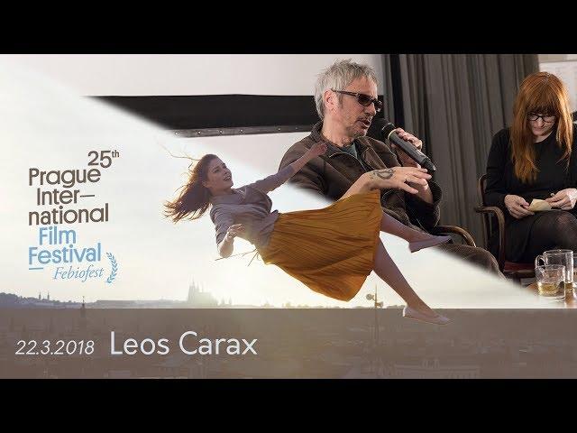 Leos Carax | Tisková konference MMF Praha - Febiofest 2018