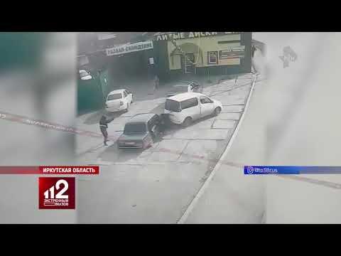 Как в 90-х: перестрелка в Иркутской области попала на видео!