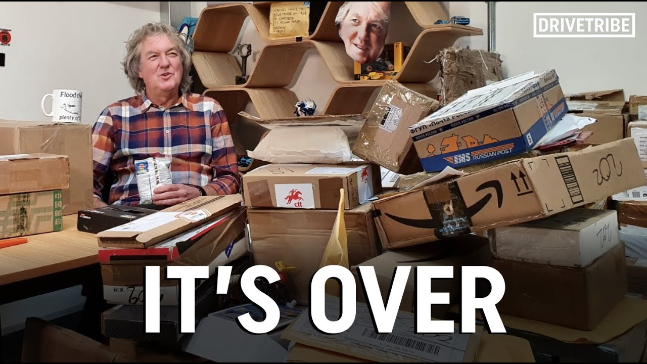 James May can't take it any more! | Mail Time FINALE!