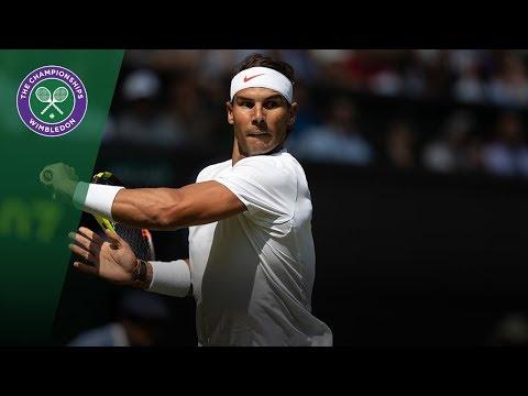 Rafael Nadal vs Mikhail Kukushkin 2R Highlights | Wimbledon 2018