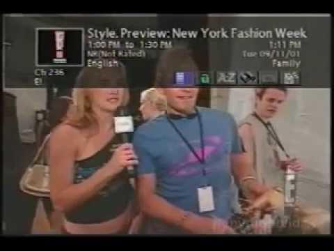 September 11, 2001 - Surfing DirecTV channels during 9/11