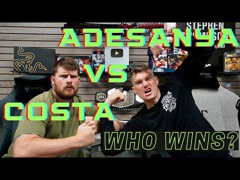 Israel Adesanya VS Paulo Costa UFC 253 Main Card Picks! - Wonderboy
