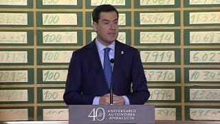Moreno se muestra contrario a la mesa de diálogo con Cataluña