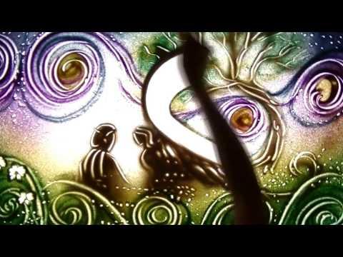 Художник - Очень красивая песня + Песочная анимация