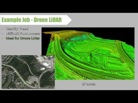UAV LiDAR - Deliverables & Costs - Texas Drone Professionals