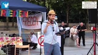 9. Friedensmahnwache in Wien: Stephan über seine Erfahrungen und die Friedensmahnwachen (23.6.2014)