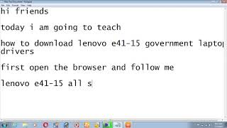 Download - how to download driver for lenovo e41-15 video, imclips net