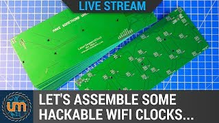 Let's assemble some mod-able wifi clocks! thumbnail