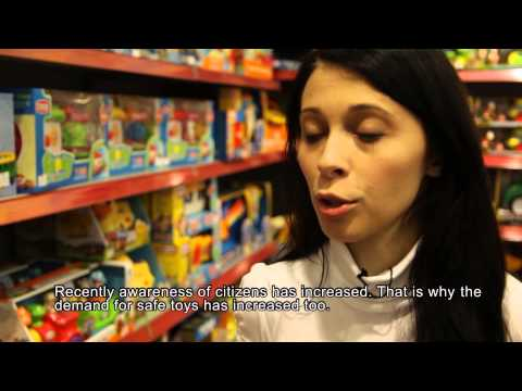 WECF Film: Toy Safety in the Balkans (Albania & Macedonia)