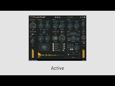 Unfiltered Audio - LO-FI-AF - Playthrough   Plugin Alliance