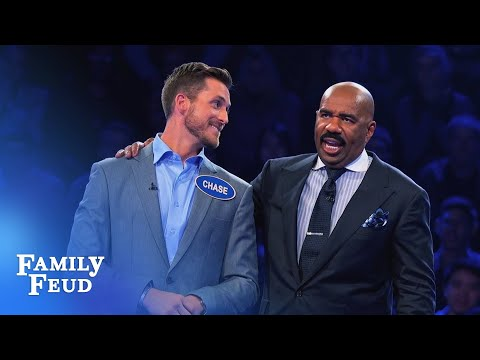 Will the Bachelors score in Fast Money? | Celebrity Family Feud