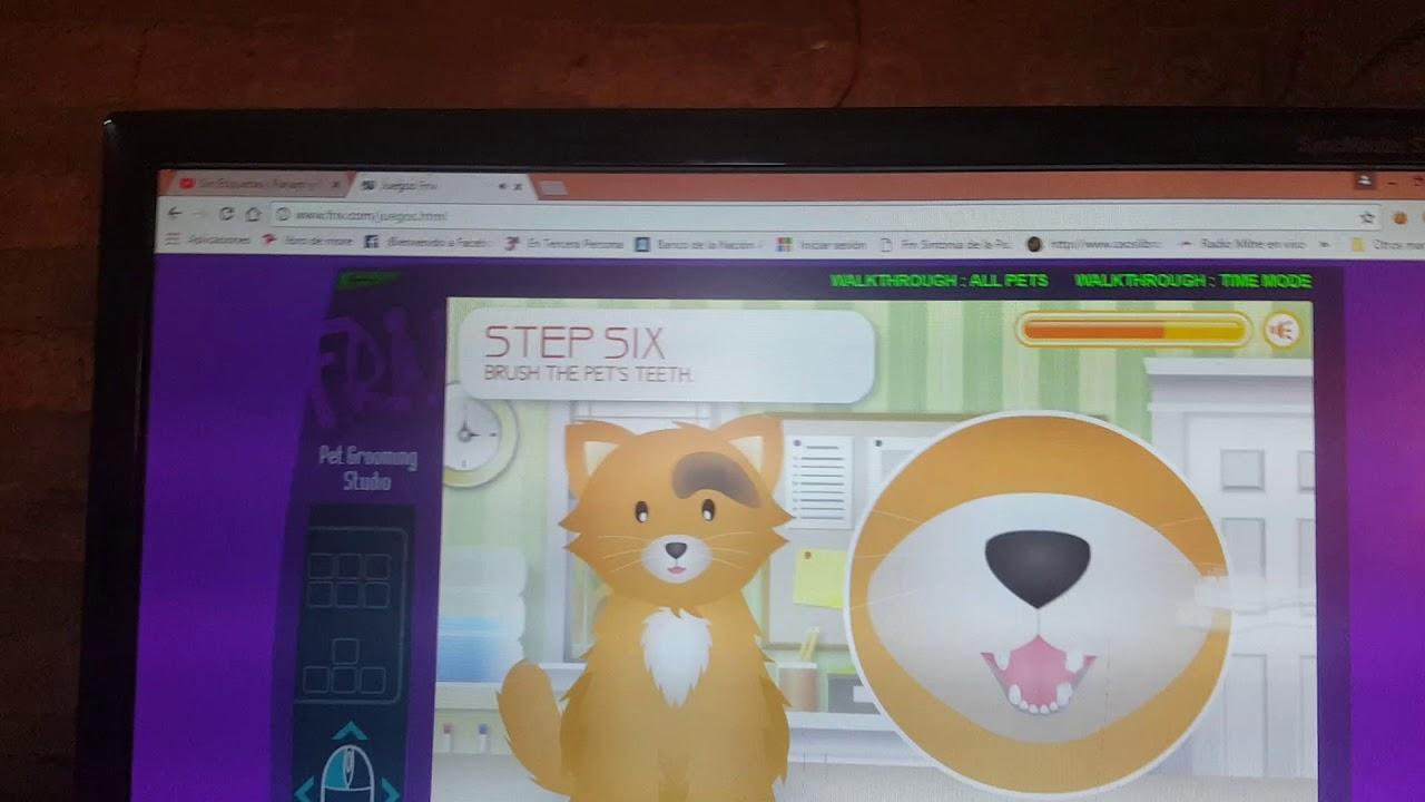 Juegos De Bañar Perros | Juegos De Banar Perros Y Gatos Youtube