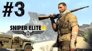 Sniper Elite 3 Gameplay Walkthrough Part 3 PC Ultra Max Settings [ULTRA HD] 4K