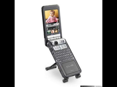 Sony CLIE PEG-NZ90 : анбоксинг и обзор карманного мультимедиа компьютера (Oldschool device)