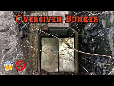 En ÖVERGIVEN BUNKER i Sverige, övergivna platser. Cold War Bunker. Urban exploration Sweden.
