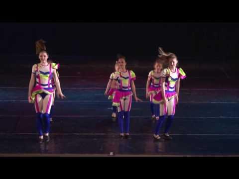 """Akrobaticheskaja shesterka"" circus group Jauniba, Riga, Latvia"