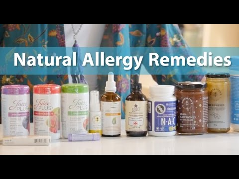 Natural Allergy Remedies and Prevention