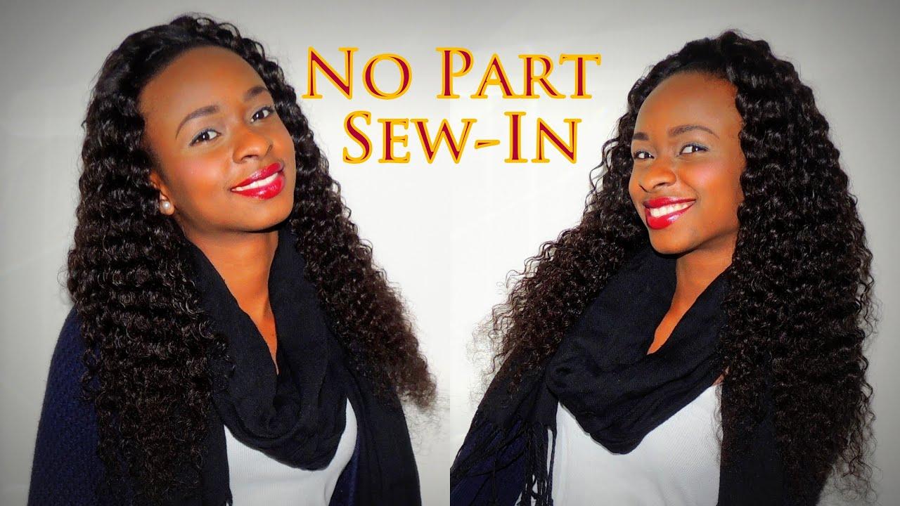Brazilian weave sew in