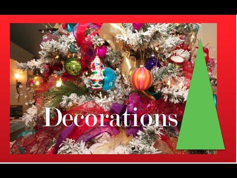 Cheap Christmas Tree decorating Ideas | White Christmas Tree