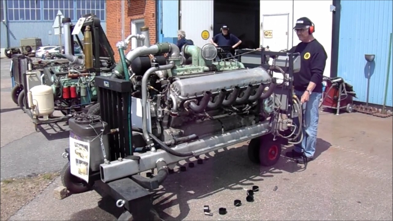 Rolls Royce Meteor Centurion Tank Engine Youtube