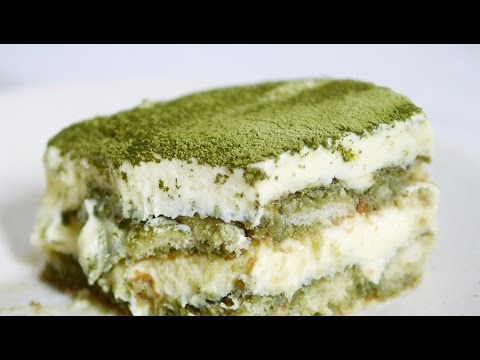 Resep egg free matcha tiramisu green tea tiramisu recipe youtube forumfinder Gallery