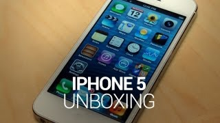 iPhone 5 Unboxing