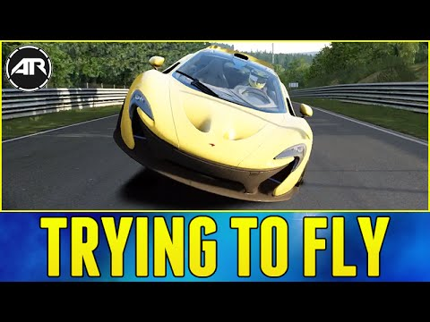 TRYING TO FLY!!! - Assetto Corsa (Xbox One Gameplay)