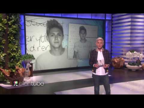 Niall Horan performs This Town on the Ellen Show!