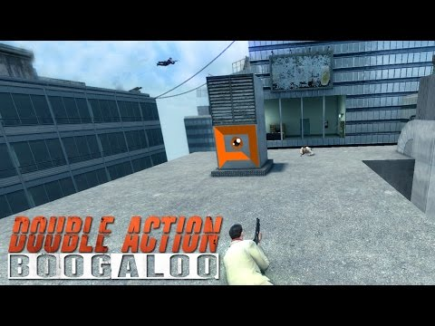 Double Action: Boogaloo - AKIMBO ROOFTOP SUICIDE DIVE!