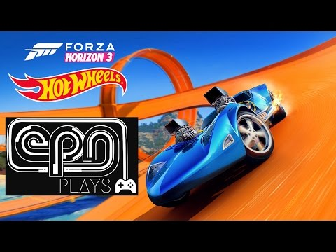 Forza Horizon 3 HOT WHEELS DLC - Let's Play - Electric Playground