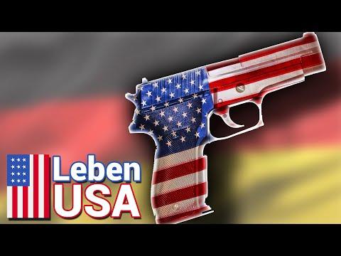 Waffengesetz: Deutschland Versus Amerika (Kalifornien)