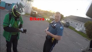 POLICE vs. BIKERS 2018 Police Chase, Getaways & Pullovers! 2018 [Ep #58]
