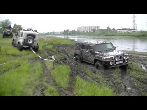 Lexus LX470 vs Hummer H3 vs УАЗ. Кто круче?