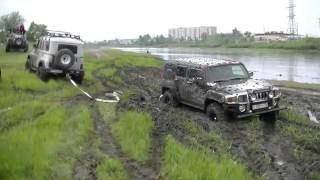 Lexus LX470 vs Hummer H3 vs УАЗ. Кто круче?(, 2016-06-20T00:53:14.000Z)