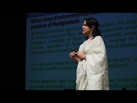 Exploring environmental justice in Bangladesh: Syeda Rizwana Hasan at TEDxDhaka