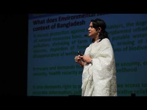 Exploring environmental justice in Bangladesh: Syeda Rizwana Hasan at TEDxDhaka