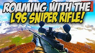 Roaming with the Legendary L96 SNIPER! - Rust Solo Survival Gameplay