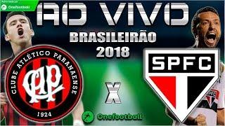 Atlético-PR 0x1 São Paulo | Brasileirão 2018 | Parciais Cartola FC | 11ª Rodada | 09/06/2018