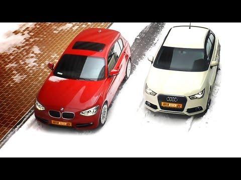 Audi A1 против BMW 1-er сравнительный видео-тест