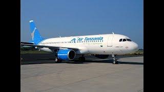 Airbus ilivyoanza safari kutoka Dar kwenda Mwanza leo