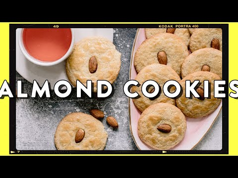 Crispy Almond Cookies - Baking Recipe For Chinese NEW YEAR | HONEYSUCKLE