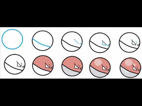 How To Draw Voltorb The Pokemon Step By Step Drawing ...