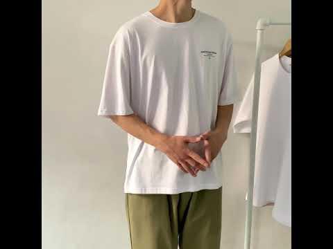 드림 오버핏 반팔 티셔츠