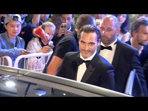 Joaquin Phoenix and his girlfriend Rooney Mara after the Closing Ceremony of the Cannes Film Festiva